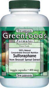 sulforofan w opakowaniu w tabletkach